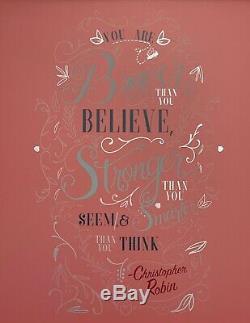 Disney Collection Sagesse Porcelet Avril Wall Art Décor Limited Edition # 4 Sur 12