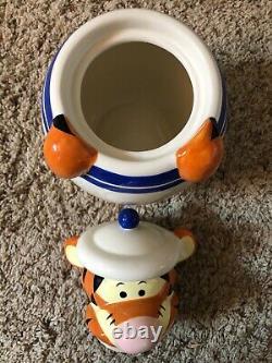 Disney Direct Winnie L'ourson Peek-a-boo Cookie Jar Bidons Ensemble Complet