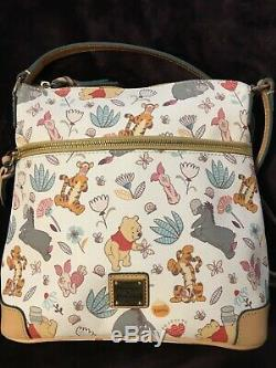 Disney Dooney & Bourke Winnie L'ourson Factrice Sac À Bandoulière Nouveau