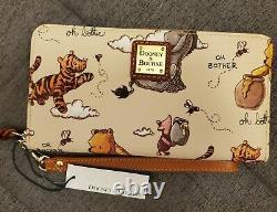 Disney Dooney & Bourke Winnie L'ourson Oh Bother Wallet T.n.-o.