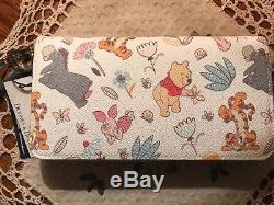 Disney Dooney & Bourke Winnie L'ourson Portefeuille Wallet So Adorable 3