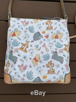 Disney Dooney & Bourke Winnie L'ourson Sac Lettre Bandoulière Porte Bourse Bourriquet