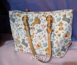 Disney Dooney & Bourke Winnie L'ourson Tammy Tote & Wallet Euc