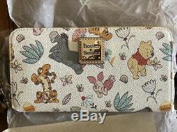 Disney Dooney & Bourke Winnie L'ourson Wallet Wrislet Tigrou Bourriquet & Epla