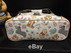 Disney Dooney Bourke Winnie Le Pooh Crossbody Nouveau Nwt Eeoyre Tigger Porcelet