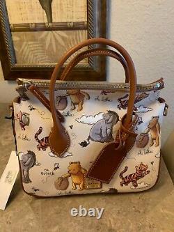 Disney Dooney & Bourke Winnie Le Pooh Satchel Nouveau Avec Des Étiquettes