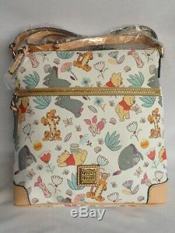 Disney Dooney & Bourke Winnie, Le Porte-lettre Pour Les Parcs Disney, Rare Nwt