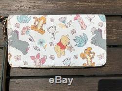 Disney Dooney & Bourke Winnie Le Portefeuille Pooh Wrislet Tigger Bourriquet & Pals