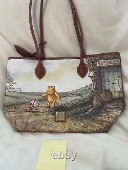 Disney Dooney & Bourke Winnie The Pooh Tote Bag Nwt 2020