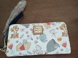 Disney Dooney Et Bourke Winnie L'ourson Wallet Neuf Avec Des Étiquettes Livraison Gratuite