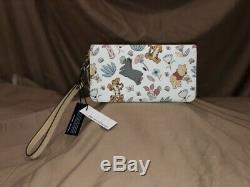 Disney Dooney Et Bourke Winnie L'ourson Wallet Nwt