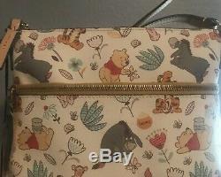 Disney Dooney Et Bourke Winnie The Pooh Crossbody Messenger Nwt Parcs Disney