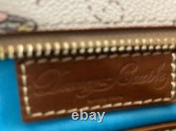 Disney Dooney Et & Bourke Winnie The Pooh Wristlet Wallet Eeyore Piglet Tigger