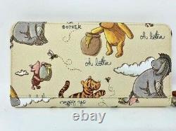 Disney Dooney Et & Bourke Winnie The Pooh Wristlet Wallet Eeyore Pooh Piglet