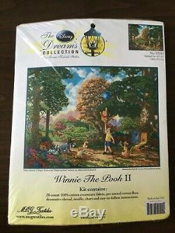 Disney Dreams Kit Au Point De Croix Winnie L'ourson II 16x12 Complete