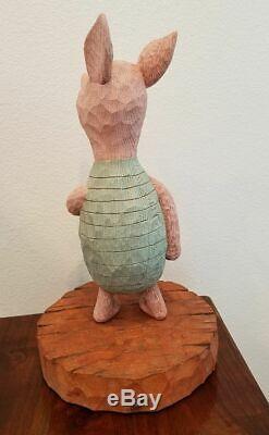 Disney Figure Winnie L'ourson Porcinet Classique Grande Statue De Figurine Figurine 75ème Rare
