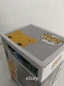 Disney Funko Pop Winnie L'ourson Flocked 1/480 Sdcc 2012 Exclusive Rare