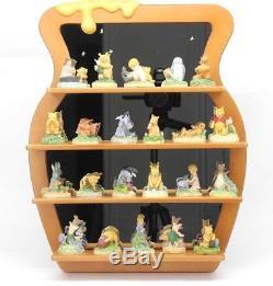 Disney Lenox Collection Winnie The Pooh 22 Pièces Avec Étagère À Miel En Miroir