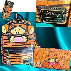 Disney Lounfly Original Release Winnie Le Sac À Dos Pooh Tigger Et Portefeuille