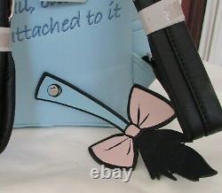 Disney Loungefly Winnie L'ourson Eeyore Mini Sac À Dos Figural & Card Holder T.n.-o.