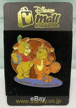 Disney Mall Japon Tigrou Et Winnie Habillé Comme Happy Halloween Pin Le 250 Htf Rare