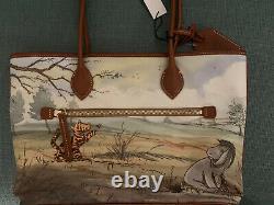 Disney Parks Classic Winnie The Pooh Tote Par Dooney Et Bourke