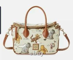 Disney Parks Dooney & Bourke Winnie The Pooh Crossbody Sac Satchel Expédition Rapide