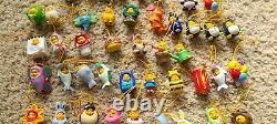 Disney Peek Un Pooh Lot De 70 Figurines Téléphone Charms Winnie Le Pooh