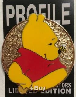 Disney Pin Winnie L'ourson Heroes Profil Qualité Wdi Fantasy Le 15 Or Rare