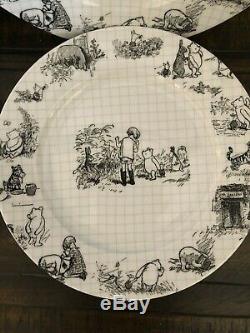Disney Sketchbook Winnie L'ourson Ensemble De 12 Pièces Dîner Et Salade Bols Et Assiettes