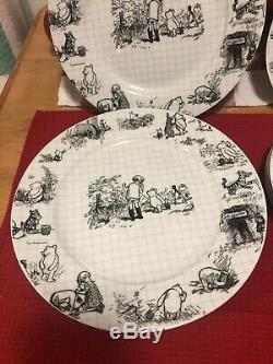 Disney Sketchbook Winnie L'ourson Ensemble De 12 Pièces Dîner, Salade Assiettes Et Tasses