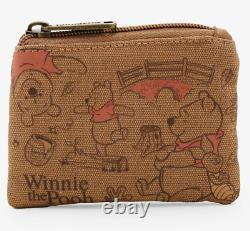 Disney Store Classic Winnie Le Sac À Dos De Ballon De Pooh & Loungefly Coin Purse