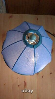 Disney Store Pooh Just Begun Lamp Umbrella Raindrop Porcelet 90 Bleu Rare Vintage