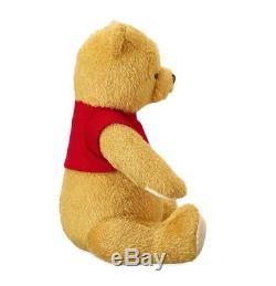 Disney Store Winnie L'ourson Peluche Peluche Bnwt Christopher Robin Film 17