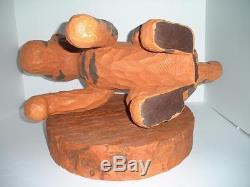 Disney Tigger Winnie L'ourson Big Fig Avec Base Grande Statue Énorme Figure 75e Rare