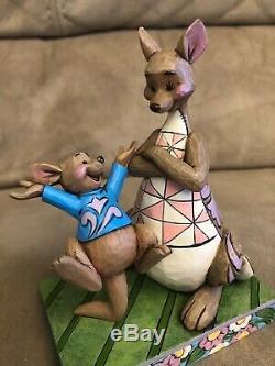 Disney Traditions Et Roo # Kanga 4045253 Boîte Originale. Winnie L'ourson Nouveau