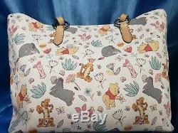 Disney Winnie L'dooney Bourke Tote Pooh Nouveau Nwt