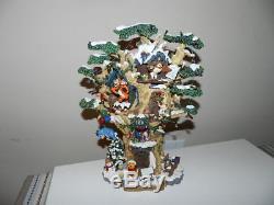 Disney Winnie L'ourson Compte À Rebours Pour La Sculpture D'arbre De Noël Bradford Exchange