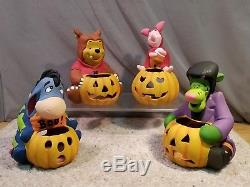 Disney Winnie L'ourson Eeyore Tigger Porcelet Halloween Luminaires 4 Chiffres