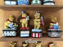 Disney Winnie L'ourson En Porcelaine Boîtes 12 Mois Trinket Calendrier __gvirt_np_nn_nnps<__ Présentoir