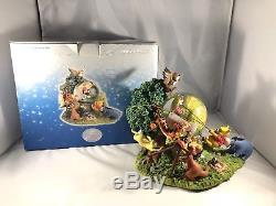 Disney Winnie L'ourson Et Ses Amis Globe De Neige Musical De Jour Jamais Utilisé