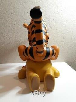 Disney Winnie L'ourson Et Tigrou Big Statue Figurine