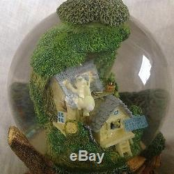 Disney Winnie L'ourson House D'arbre Musical Globe De Neige -mib