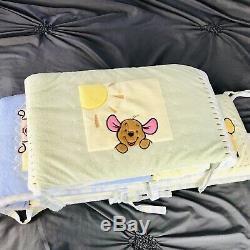 Disney Winnie L'ourson Literie De Bébé 10 Pièces Décor De Nurserie Complète Unisexe