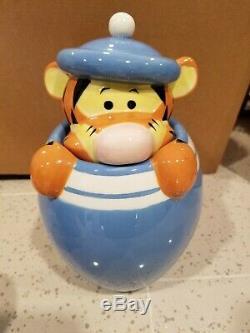 Disney Winnie L'ourson Porcinet Tigrou Bourriquet Peek Cookie Jar Canister Set De 4