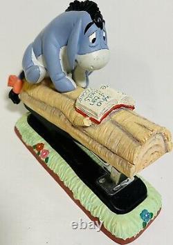 Disney Winnie L'ourson Set Bureau 8 Ourson Tigrou Porcinet Hibou Bourriquet Lapin Rare