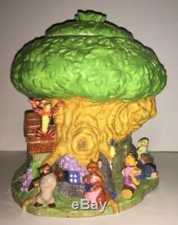 Disney Winnie L'ourson Treehouse Cookie Jar