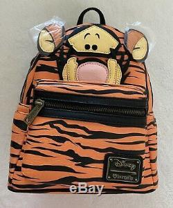 Disney Winnie L'poohs Tigrou Loungefly Mini Sac À Dos, Neuf Avec Des Étiquettes