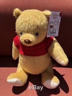 Disney Winnie The Pooh De Film Christopher Robin Medium Plush Nouveau Avec Étiquettes