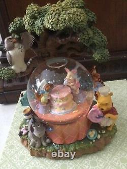Disneys Winnie The Pooh Happy Birthday Musical Snow Globe